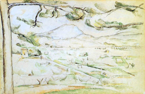 Paul Cezanne The Arc Valley - Hand Painted Oil Painting