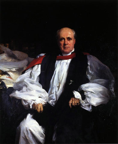 John Singer Sargent The Archbishop of Canterbury (Randall Thomas Davidson) - Hand Painted Oil Painting