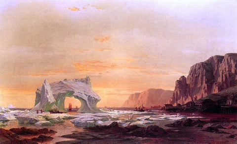 William Bradford The Archway - Hand Painted Oil Painting