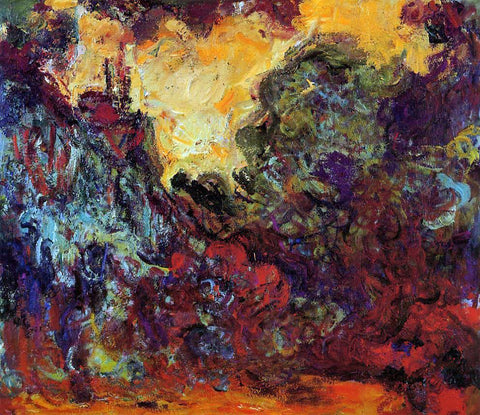 Claude Oscar Monet The Artist's House, View from the Rose Garden - Hand Painted Oil Painting