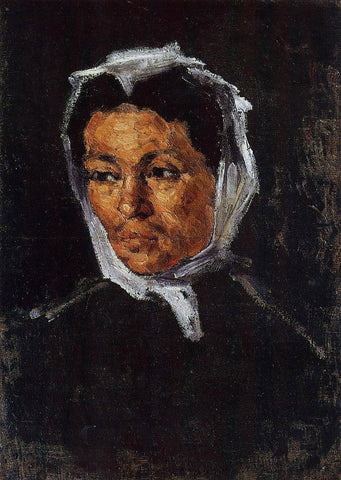 Paul Cezanne The Artist's Mother - Hand Painted Oil Painting