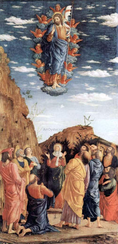Andrea Mantegna The Ascension - Hand Painted Oil Painting