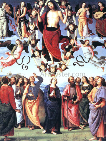 Pietro Perugino The Ascension of Christ - Hand Painted Oil Painting
