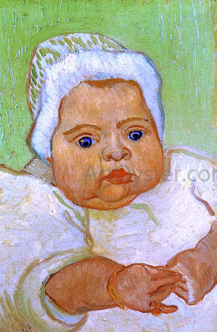 Vincent Van Gogh Baby Marcelle Roulin - Hand Painted Oil Painting