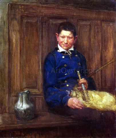 Henry Ossawa Tanner The Bagpipe Player - Hand Painted Oil Painting