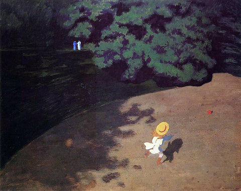 Felix Vallotton The Ball - Hand Painted Oil Painting