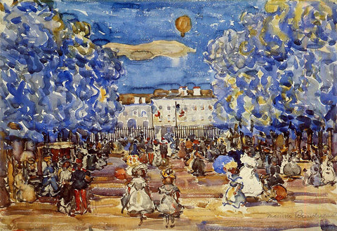 Maurice Prendergast The Balloon - Hand Painted Oil Painting
