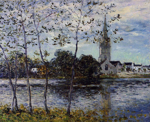 Maxime Maufra The Banks of the Pond at Rosporden, Finistere - Hand Painted Oil Painting