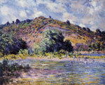 Claude Oscar Monet The Banks of the Seine at Port-Villez - Hand Painted Oil Painting