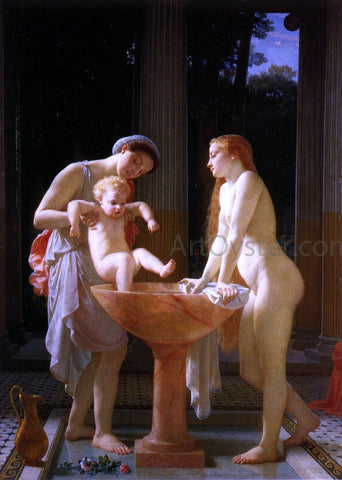 Marc-Charles-Gabriel Gleyre The Bath - Hand Painted Oil Painting