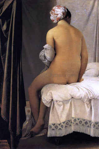 Jean-Auguste-Dominique Ingres The Bather - Hand Painted Oil Painting