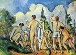 Paul Cezanne The Bathers - Hand Painted Oil Painting