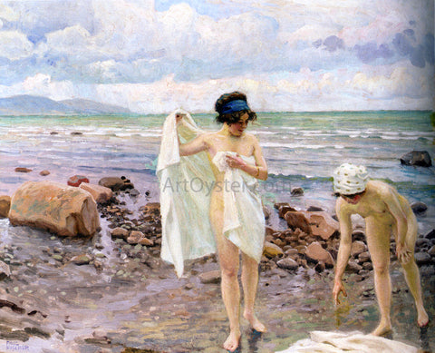 Paul-Gustave Fischer The Bathers - Hand Painted Oil Painting