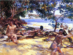 John Singer Sargent The Bathers - Hand Painted Oil Painting