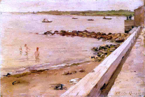 William Merritt Chase The Bathers - Hand Painted Oil Painting