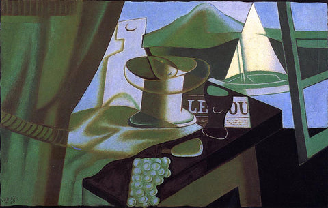 Juan Gris The Bay - Hand Painted Oil Painting