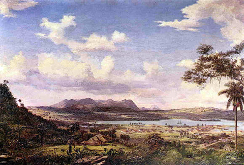 Charles De Wolf Brownell The Bay of Matanzas, Cuba - Hand Painted Oil Painting