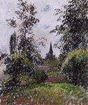 Camille Pissarro The Bazincourt Steeple (study) - Hand Painted Oil Painting