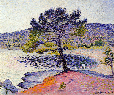 Henri Edmond Cross The Beach, Evening - Hand Painted Oil Painting