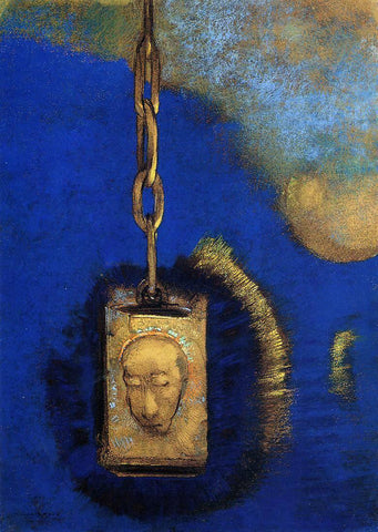 Odilon Redon The Beacon - Hand Painted Oil Painting