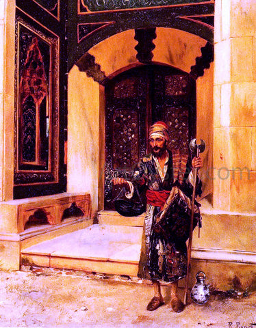 Rudolph Ernst The Beggar - Hand Painted Oil Painting