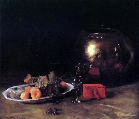 William Merritt Chase The Big Brass Bowl - Hand Painted Oil Painting
