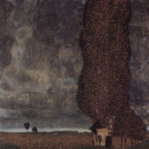 Gustav Klimt The Big Poplar II - Hand Painted Oil Painting