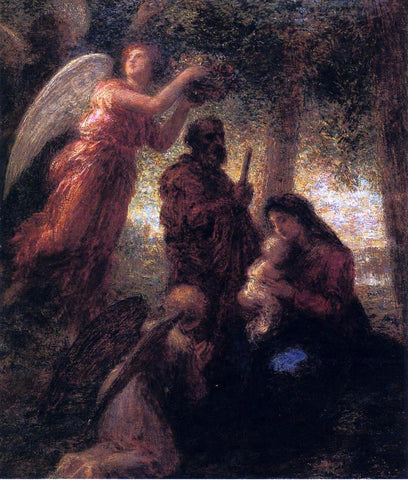 Henri Fantin-Latour The Birth of Christ - Hand Painted Oil Painting