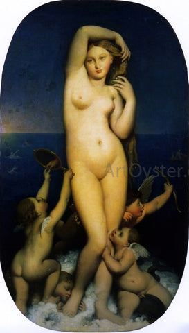 Jean-Auguste-Dominique Ingres The Birth of Venus - Hand Painted Oil Painting