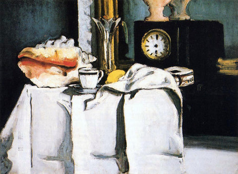 Paul Cezanne The Black Clock - Hand Painted Oil Painting
