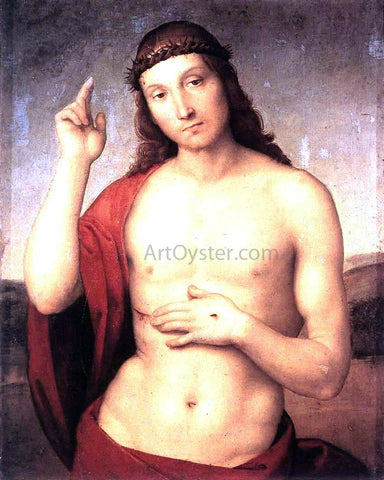 Raphael The Blessing Christ - Hand Painted Oil Painting