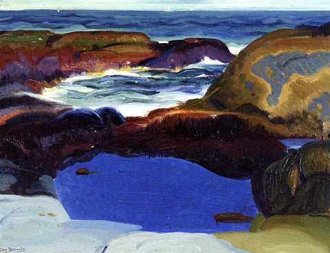 George Wesley Bellows The Blue Pool - Hand Painted Oil Painting