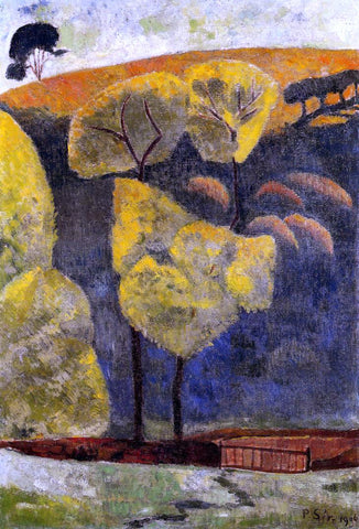 Paul Serusier The Blue Valley - Hand Painted Oil Painting