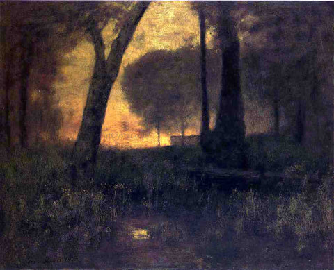 George Inness The Brook - Hand Painted Oil Painting
