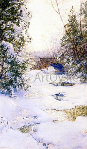 Walter Launt Palmer The Brook in Winter - Hand Painted Oil Painting