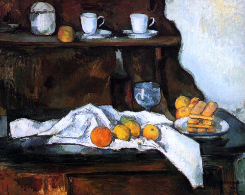 Paul Cezanne The Buffet - Hand Painted Oil Painting