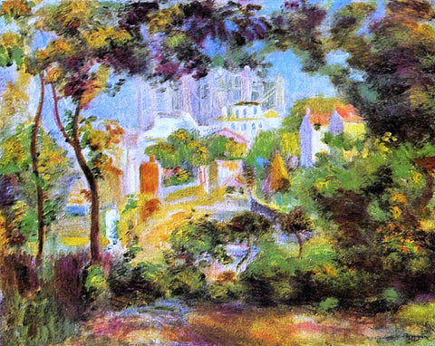 Pierre Auguste Renoir The Building of Sacred Heart - Hand Painted Oil Painting