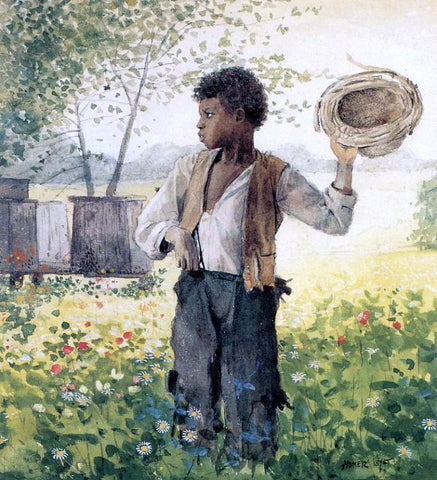 Winslow Homer The Busy Bee - Hand Painted Oil Painting