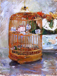 Berthe Morisot The Cage - Hand Painted Oil Painting