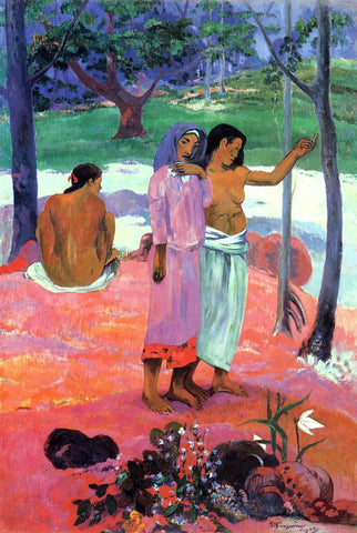 Paul Gauguin The Call - Hand Painted Oil Painting