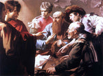 Hendrick Terbrugghen The Calling of St Matthew - Hand Painted Oil Painting