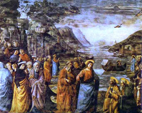 Domenico Ghirlandaio The Calling of St. Peter - Hand Painted Oil Painting