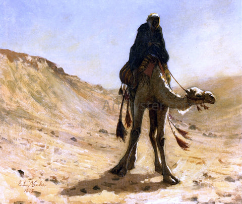 Edwin Lord Weeks A Camel Rider - Hand Painted Oil Painting