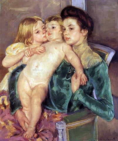 Mary Cassatt The Caress - Hand Painted Oil Painting