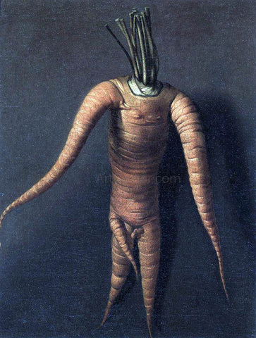Willem Frederik Van Royen The Carrot - Hand Painted Oil Painting
