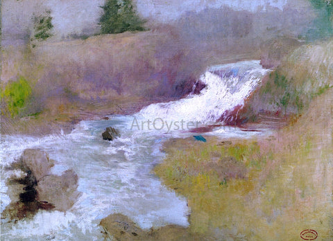 John Twachtman The Cascade in Spring - Hand Painted Oil Painting