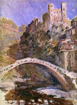 Claude Oscar Monet The Castle at Dolceacqua - Hand Painted Oil Painting