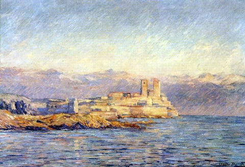 Claude Oscar Monet The Castle in Antibes - Hand Painted Oil Painting