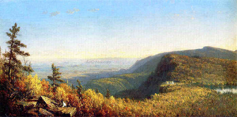 Sanford Robinson Gifford The Catskill Mountain House - Hand Painted Oil Painting