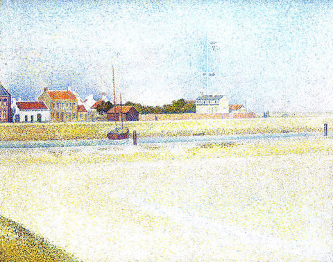 Georges Seurat The Channel at Gravelins, Grand-Fort-Philippe - Hand Painted Oil Painting